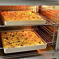 【培根佛卡夏】—COUSS CO-960A热风炉烤箱出品的做法图解12