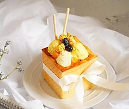 夏日里的面包诱惑,自己在家也能做餐厅大受欢迎的冰淇淋甜品的做法