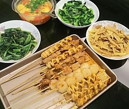 荤菜(烧烤)的做法