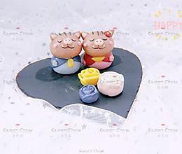 【卡通馒头&卡通包】山猪夫妇的2019情人节的做法