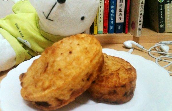 江南小吃——腰子饼