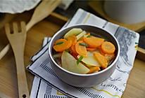 #精品菜谱挑战赛#胡萝卜烧土豆的做法