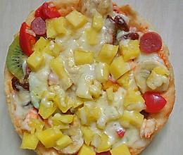 披萨电饼铛版的做法