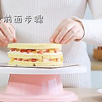 不用烤箱,漂亮的生日蛋糕簡單做,健康少油更適合寶寶!的做法圖解21
