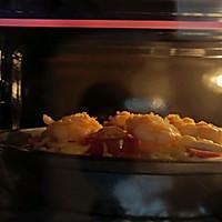 DIY鲜虾培根水果披萨 比点外卖还要快的做法图解5