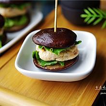 香菇鸡肉汉堡#胃,我养你啊#