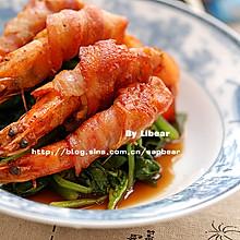 培根煎大虾 --- 零难度的豪华宴客菜