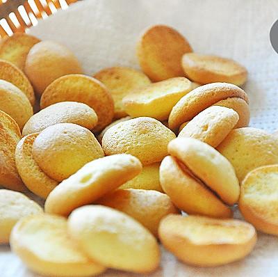 无油小蛋饼~九阳烤箱试用