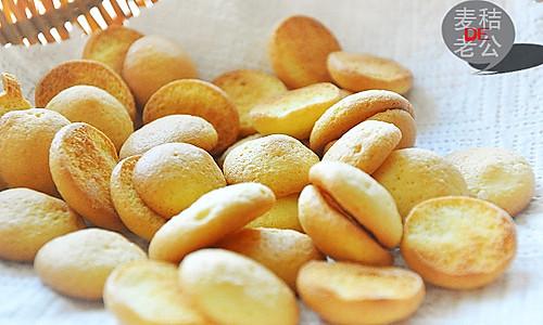 无油小蛋饼~九阳烤箱试用#九阳烘焙剧场#的做法