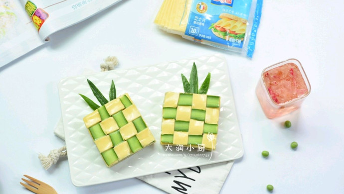 菠菜豌豆绿菠萝