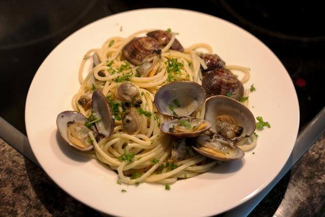 曼步厨房 - 蛤蜊意大利面