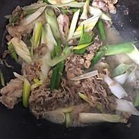 北京年夜饭必备—葱爆羊肉的做法图解4