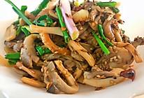 孜然蘑菇#肉食主义狂欢#的做法