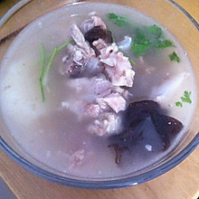 木耳山药排骨汤