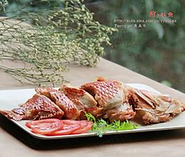 煎焗红鱼的做法