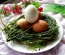 荠菜花煮鸡蛋的做法