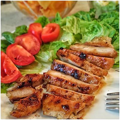 超簡單超好吃的香煎雞胸肉