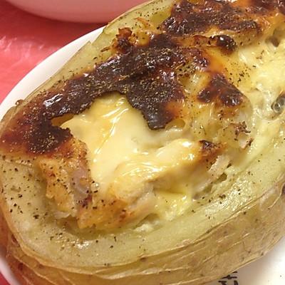芝士烤土豆