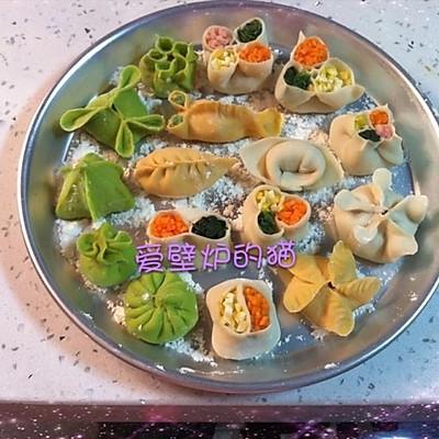花式饺子--饺子的35种包法