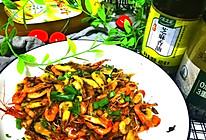 #太太乐鲜鸡汁玩转健康快手菜#鸡汁爆炒河虾的做法