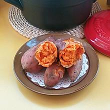 #我要上首焦#砂锅烤红薯