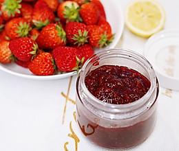 零添加自制草莓酱的做法