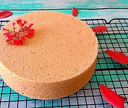 巧克力戚风  (八寸蛋糕胚)的做法