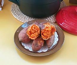 #我要上首焦#砂锅烤红薯的做法
