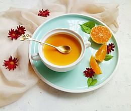 橙香焦糖炖蛋#洗手作羹汤#的做法