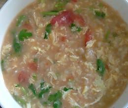 西红柿噶瘩汤的做法