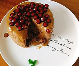 珍珠奶茶爆浆蛋糕的做法