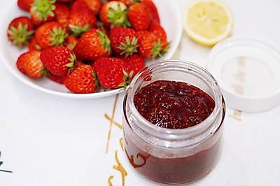 零添加自制草莓酱