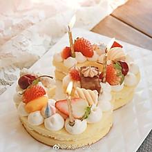 网红数字生日蛋糕