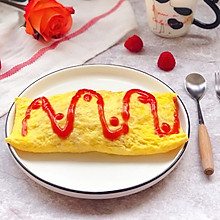 #做道懒人菜,轻松享假期#美味蛋包饭