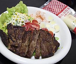 #321沙拉日#减脂牛肉餐的做法