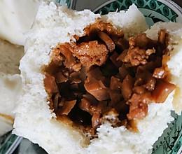 杏鲍菇酱肉包子的做法