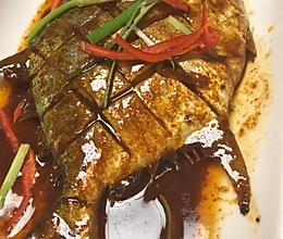 红烧金鲳鱼的做法