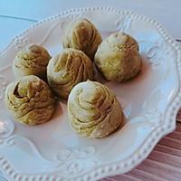 抹茶豆沙酥的做法图解16