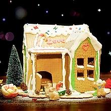 圣诞姜饼屋【微体兔菜谱】