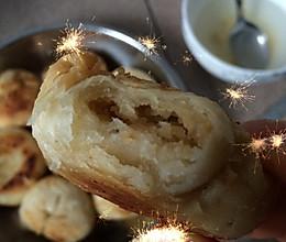 板栗饼(煎的噢,无需烤箱)的做法