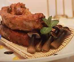 西班牙酱烤湘村黑猪肋排的做法