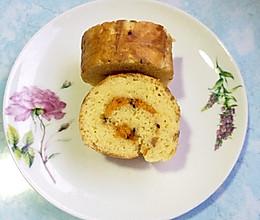 粗糙版蛋糕卷和可可蛋糕的做法