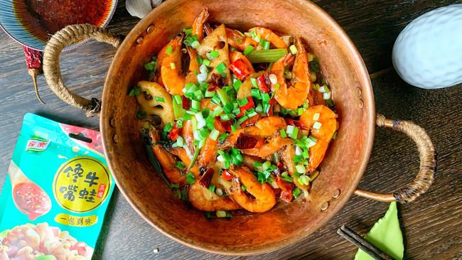 馋嘴干锅基尾虾的做法