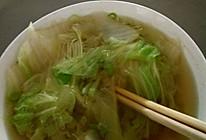 白菜汤的做法