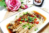 #百变鲜锋料理#能吃出海鲜味蚝油金针菇的做法
