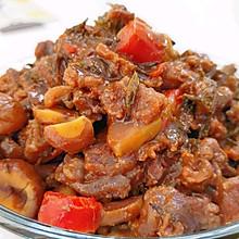 茶香板栗牛肉