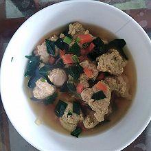 宝宝辅食——肉丸子汤