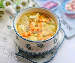 #中秋团圆食味#冬瓜虾仁豆腐汤的做法