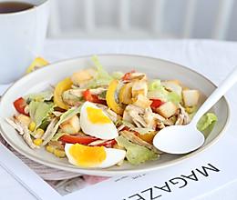 三款低热量主食沙拉的做法