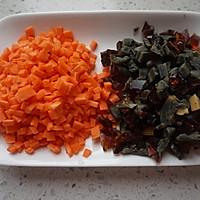 胡萝卜皮蛋瘦肉粥的做法图解3
